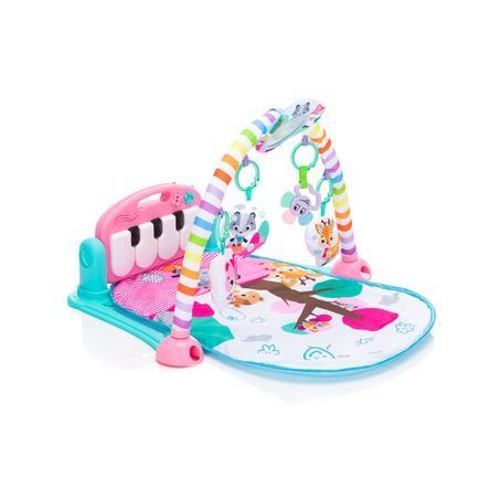 Erlebnisdecke Fillikid Aktivbogen Piano Exclusiv Spieldecke f/ür Babys mit weichem Spielbogen ab 0 Monaten Klavier-Spielmatte Krabbeldecke mit Musik und Lichtern Design:blau