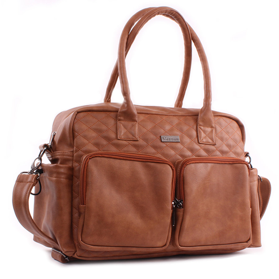 Kidzroom Wickeltasche Vision Leather Brown