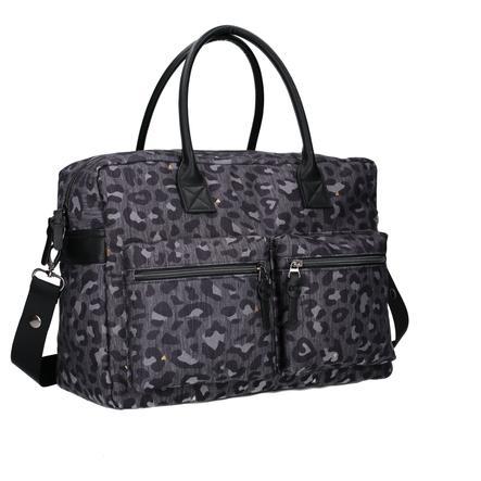 Kidzroom taška Care Leopard Love Black
