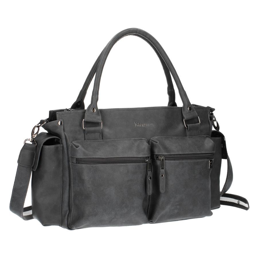 Kidzroom přebalovací taška Deluxe Grey