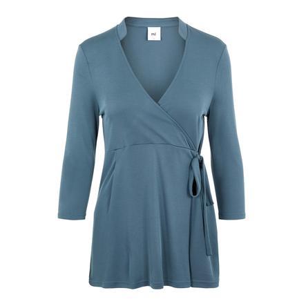 mama;licious Camicia da infermiera MLMIE Orion Blue