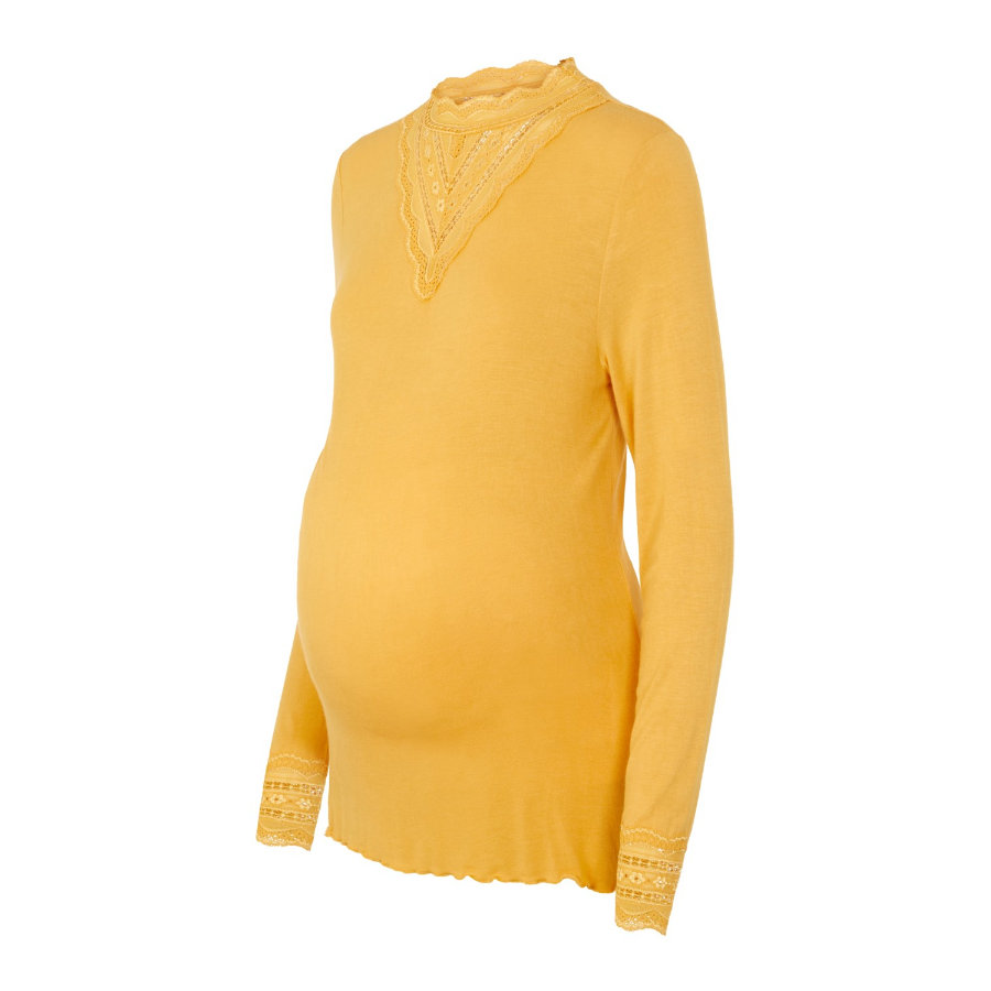mama;licious Camisa de manga larga MLREESE Golden Apricot
