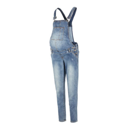 mama  legitimní kalhotky pro těhotné MLFALLY Medium Blue Denim