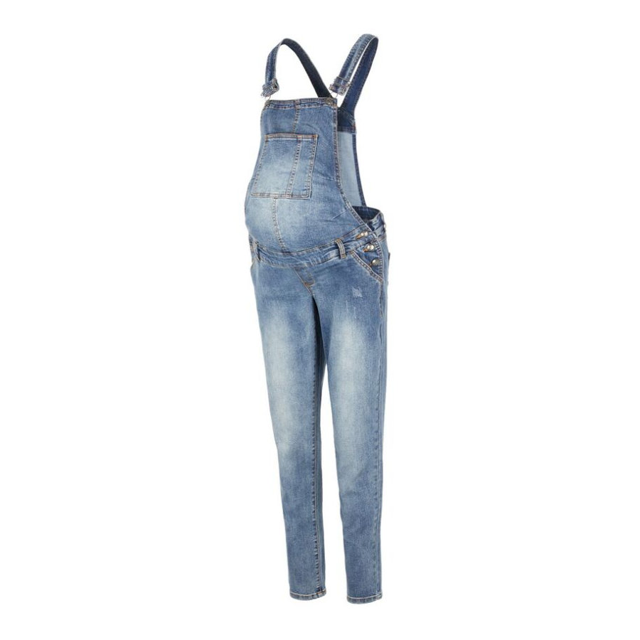 mama;licious Zwangerschapsbroekje MLFALLY Medium Blue Denim