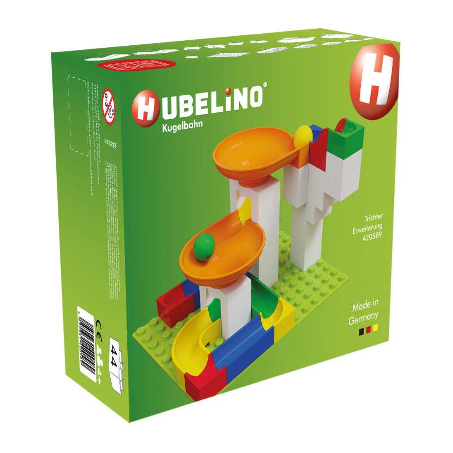 HUBELINO® Kugelbahn Trichter Ergänzung, 44-teilig