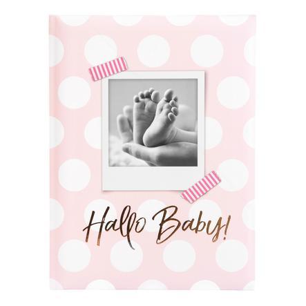 goldbuch Babytagebuch - Hallo Baby rosa