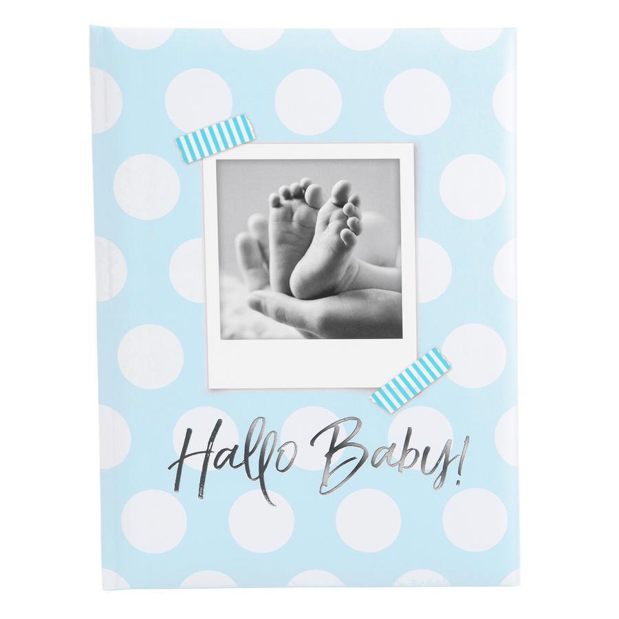 goldbuch Babytagebuch - Hallo Baby blau