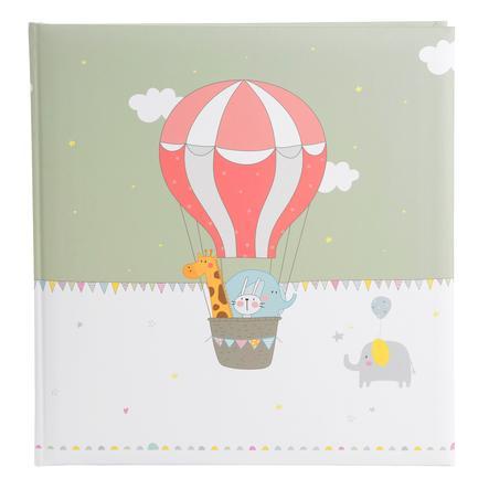 zlaté album Babybuch - let balónem 30 x 31 cm