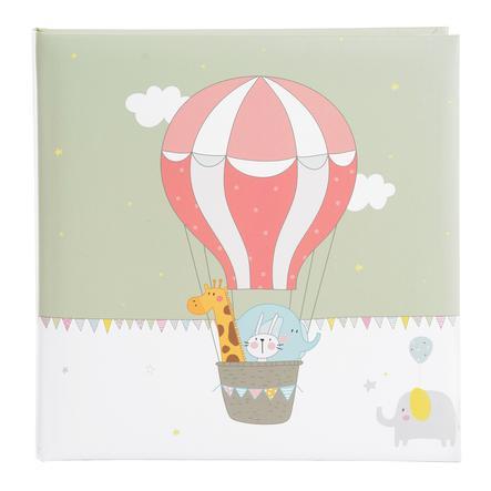 goldbuch Babyalbum - ballonflyvning 25 x 25 cm