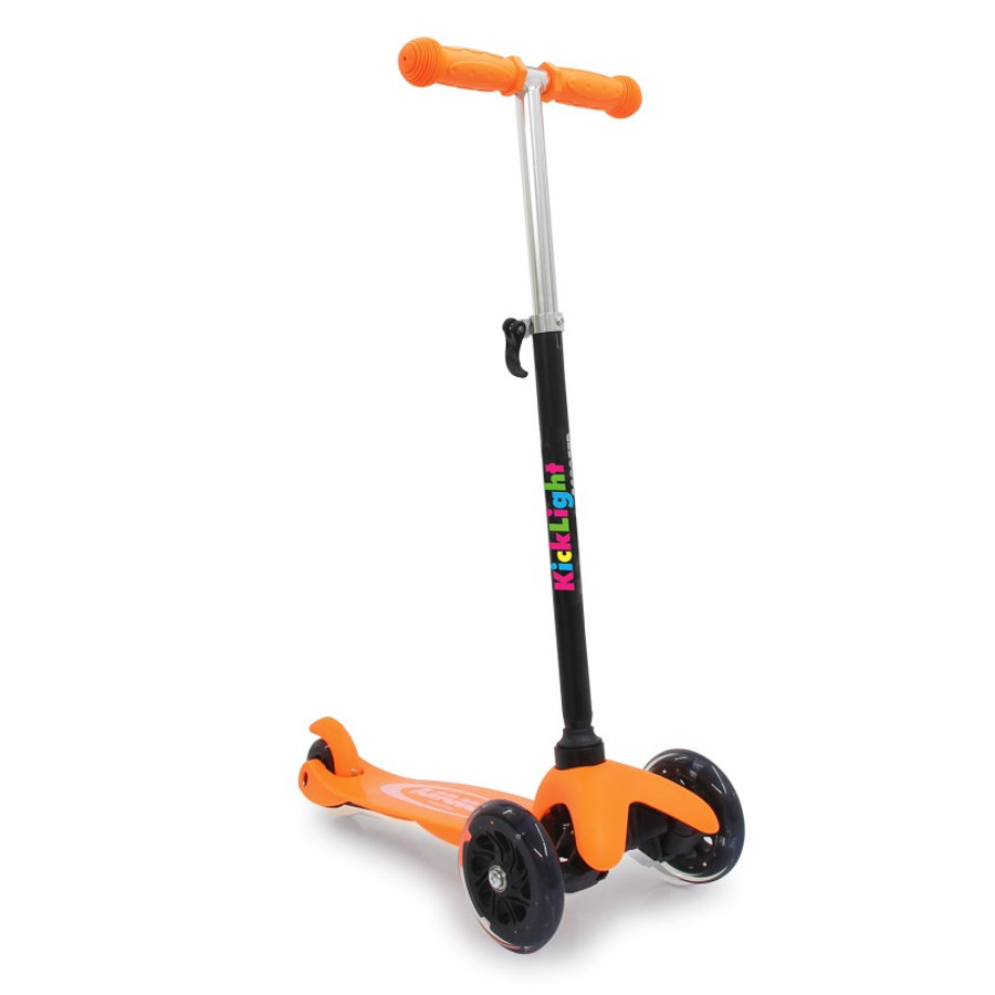 JAMARA Kick Light Scoot ho, oranžová