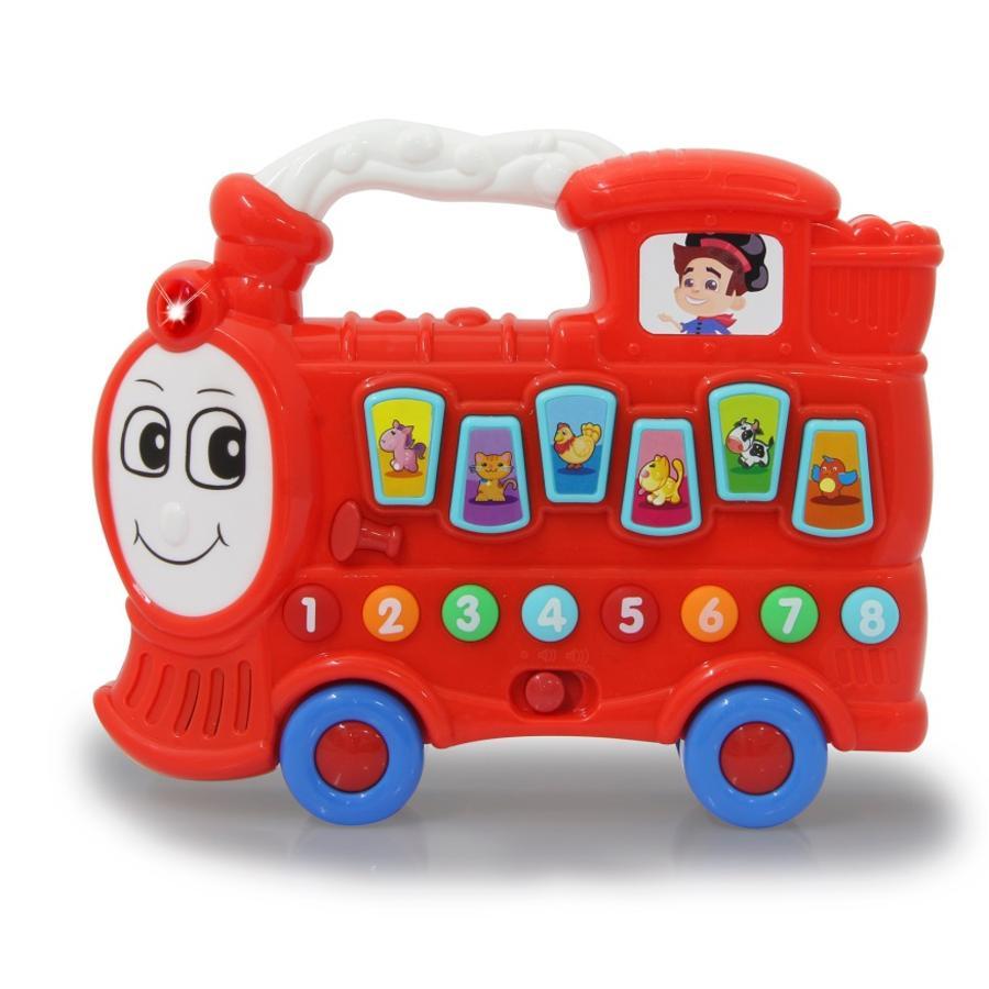 JAMARA Locomotora musical choo-choo, roja