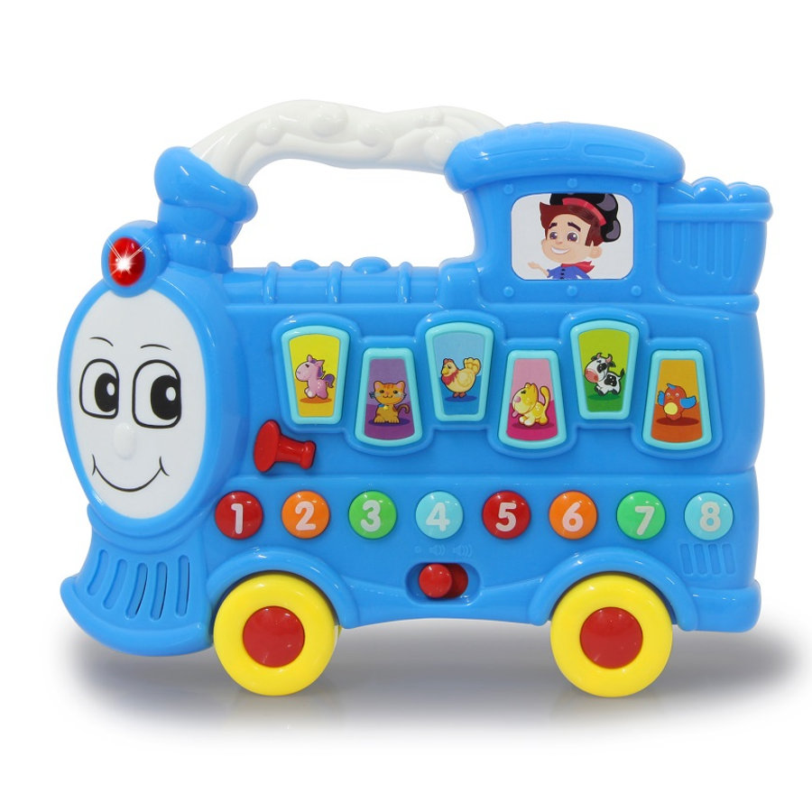 JAMARA hudební lokomotiva choo-choo, modrá
