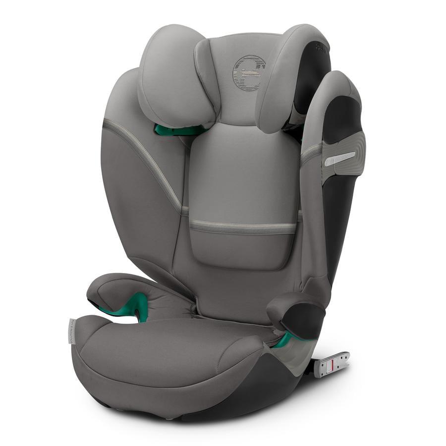 cybex GOLD Kindersitz Solution S i-Fix Soho Grey