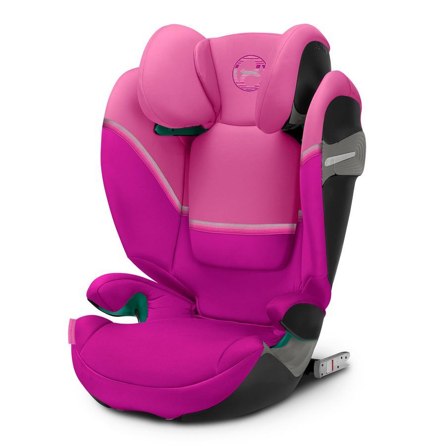 cybex GOLD Silla de coche Solution S i-fix Magnolia Pink
