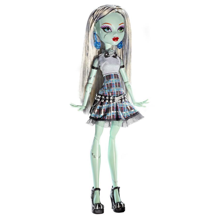 MATTEL Monster High Świecąca laleczka Frankie Stein
