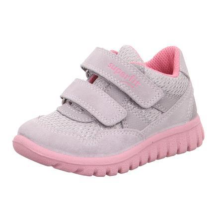 superfit Girls low sko Sport7 lys grå / rosa