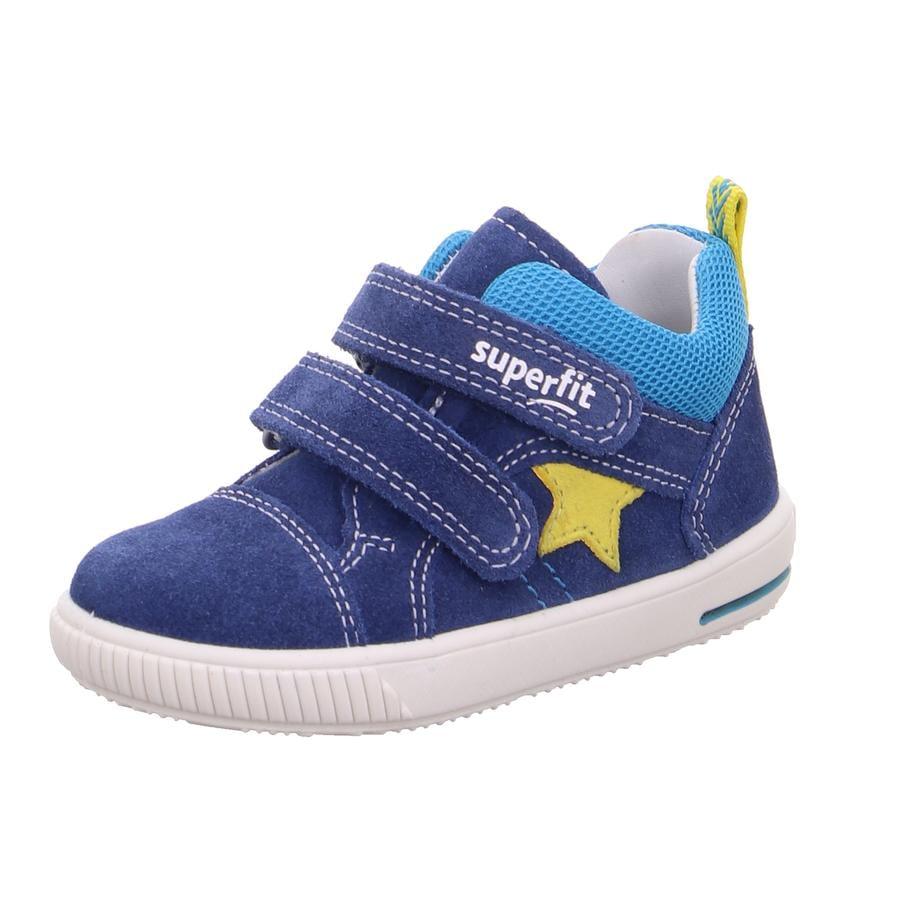 superfit Gutter lave sko Moppy blå / gul (middels)