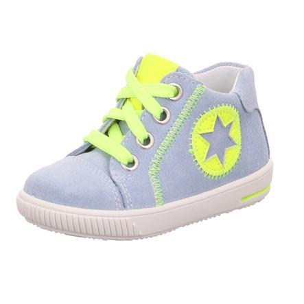 superfit Pojkar låga skor Moppy ljusblå / gul (medium)