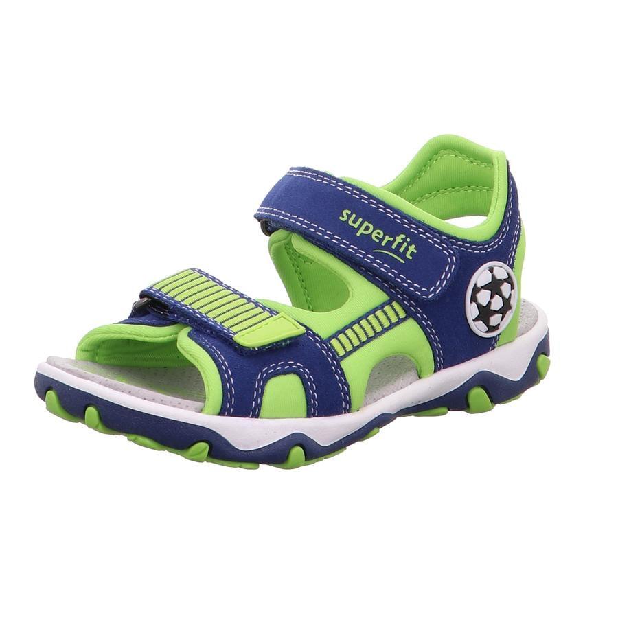 superfit Boys Sandale Mike 3.0 blau/grün (mittel)