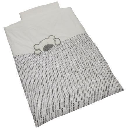 Ropa de cama de la Colección Be Be Gran Willi gris 100 x 135 cm