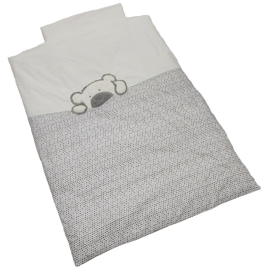 Ložní prádlo Be Be Collection Velké Willi šedé 100 x 135 cm