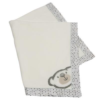 Be Be's Collection Fleecová přikrývka Big Willi šedá 75 x 100 cm