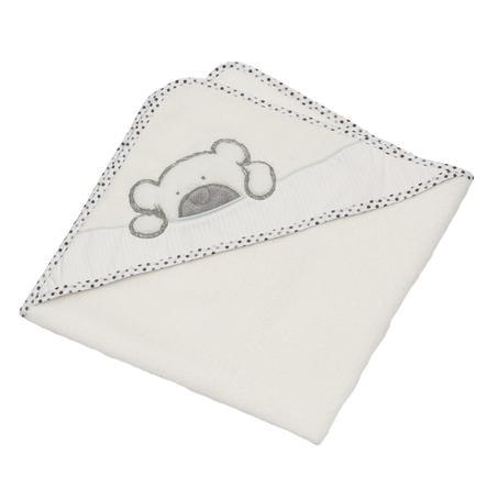 Be's Collection Ręcznik kąpielowy z kapturem Big Willi grey 80 x 80 cm