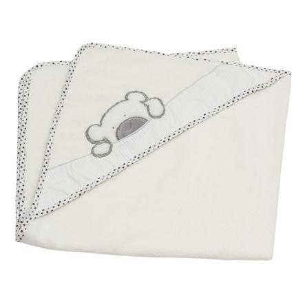Be's Collection Ręcznik kąpielowy z kapturem Big Willi grey 100 x 100 cm