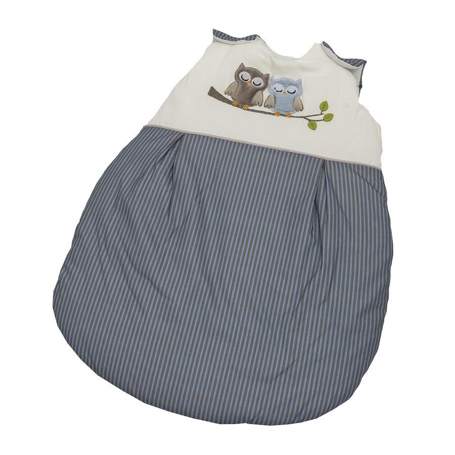 Be Be 's Collection Saco de dormir de invierno búhos azul