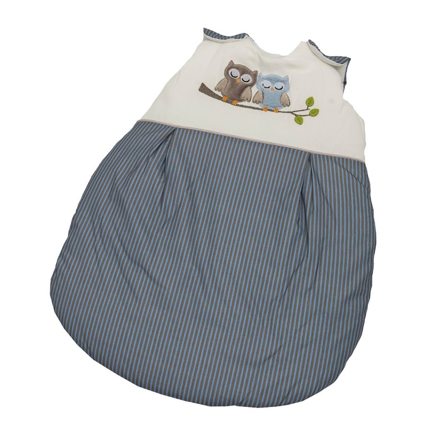 Be Be 's Collection Sommerschlafsack Eulen blau