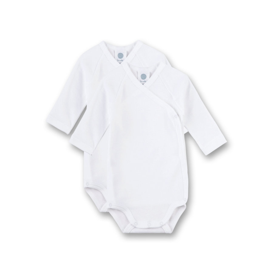 Sanetta Emballage du corps 2-pack white