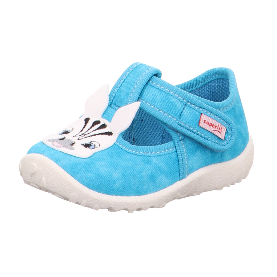 superfit Girls Slipper Spotty blue