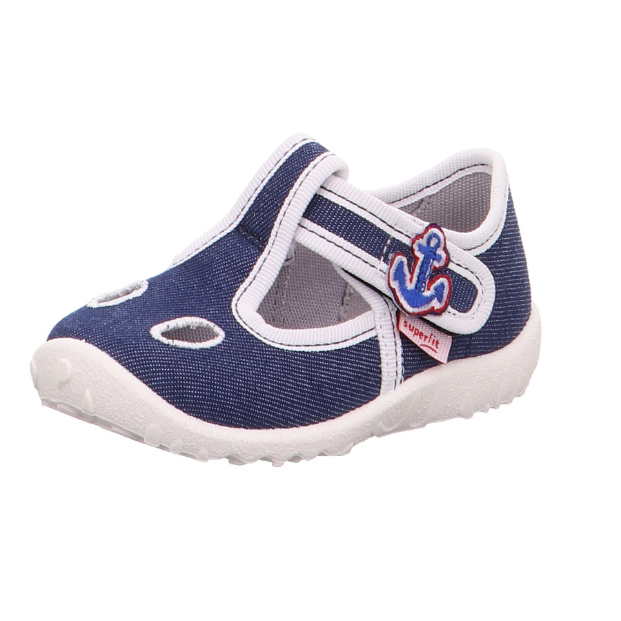 superfit  Zapatilla de niño Spotty Blue Anchor