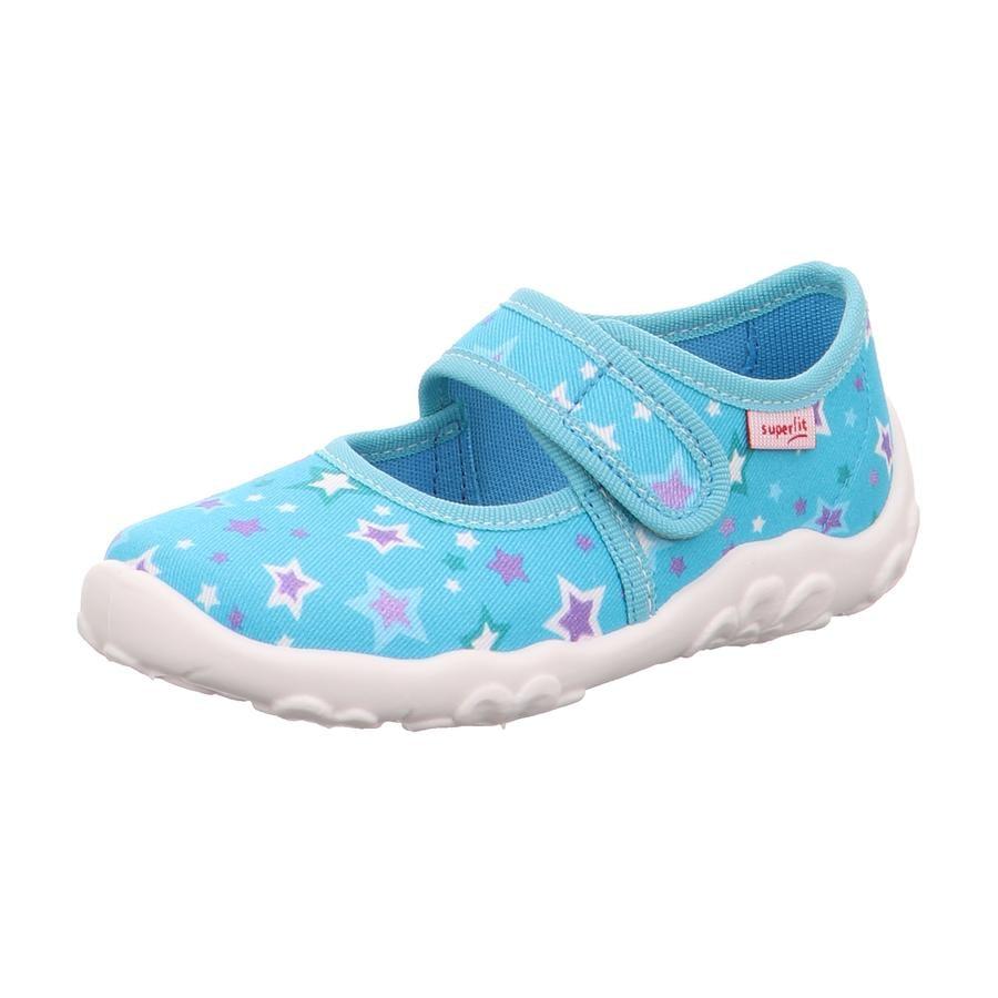 superfit  Girls Slipper Bonny blauw