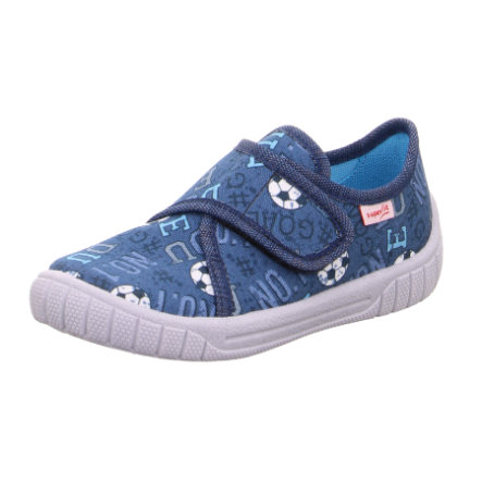 superfit  Jongens slipper Bill blauw