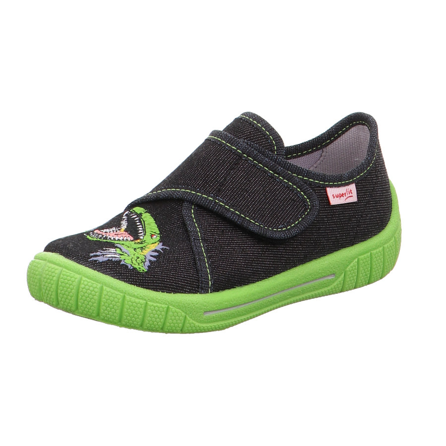 superfit Boys pantofle Bill black dino