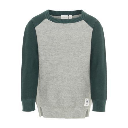 name it Boys Sweatshirt Nmmvasper grey melange