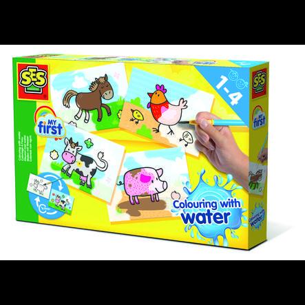 SES Creative® My first Malen mit Wasser Bauernhoftiere
