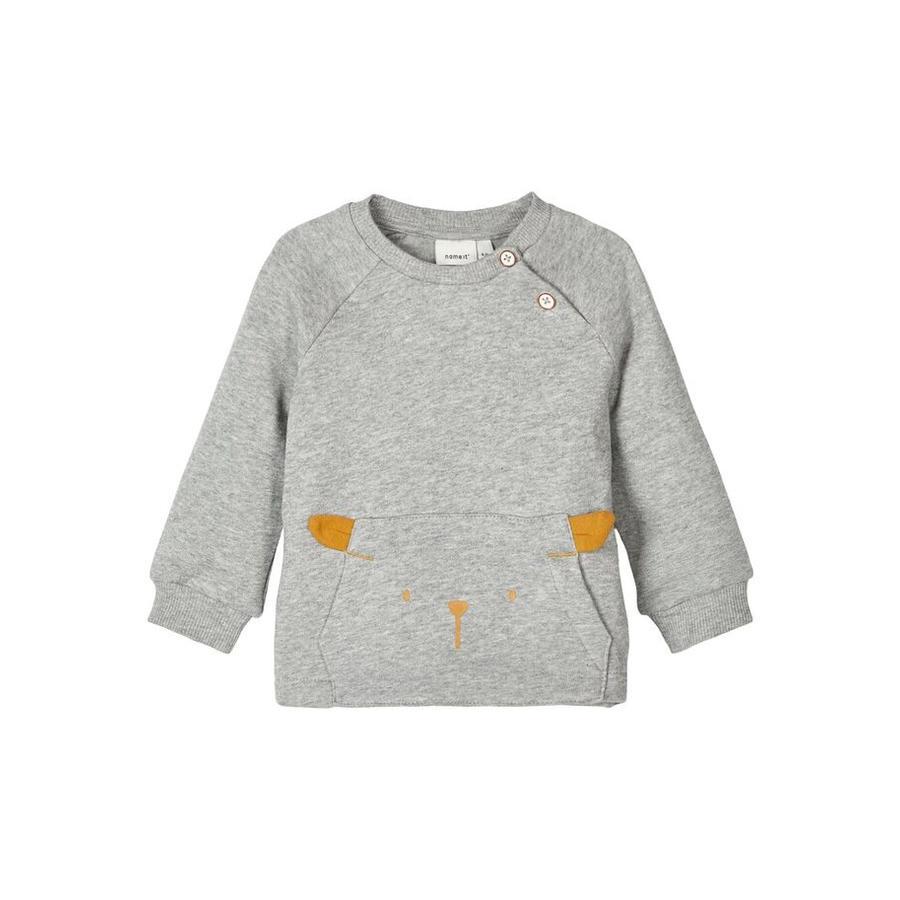 name it Sweatshirt Nbnuxobo grey melange