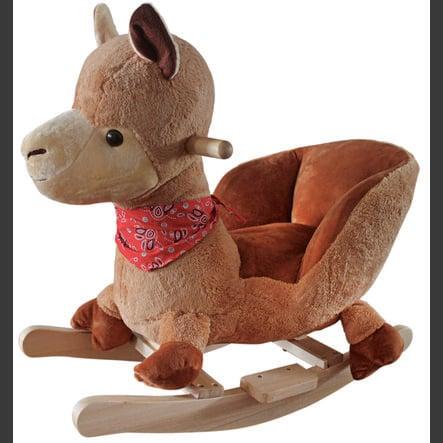 babyGO - Animal à bascule lama Rocker bois