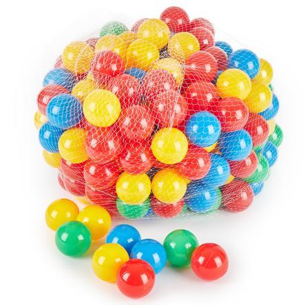 BIECO 250 kolorowych piłeczek