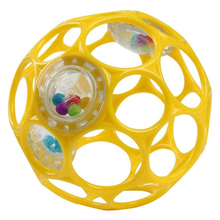 Oball™ Balle d'éveil jaune, 10 cm