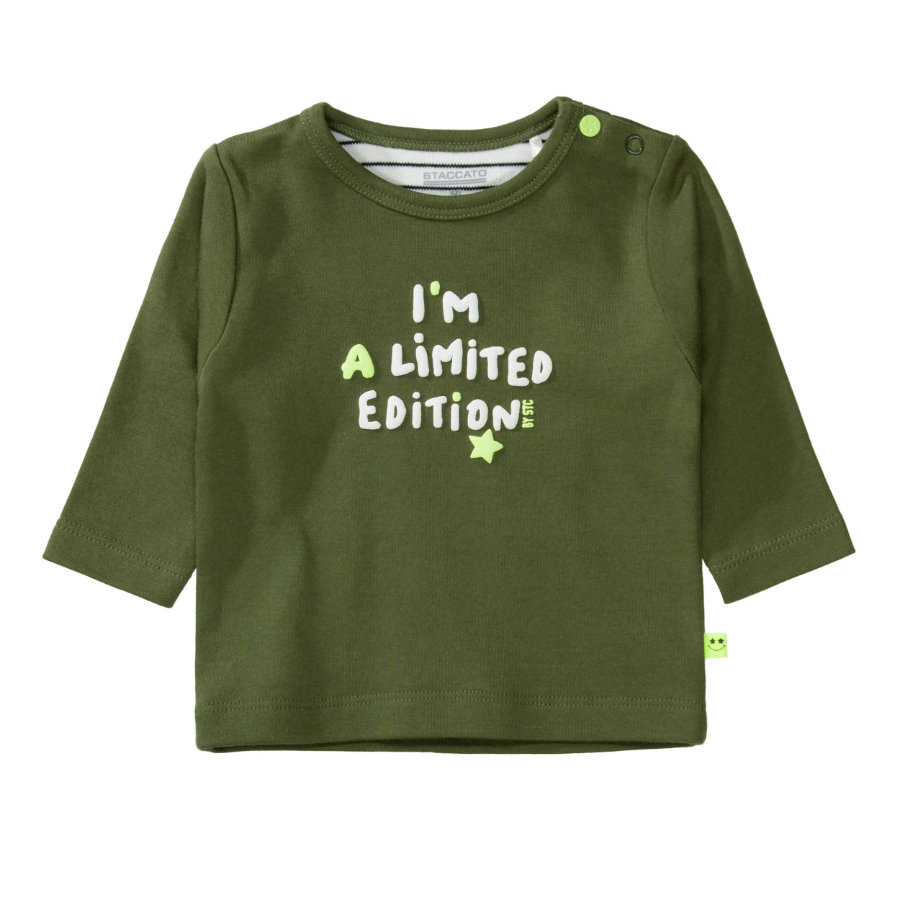 STACCATO  Camisa de niño suave olive