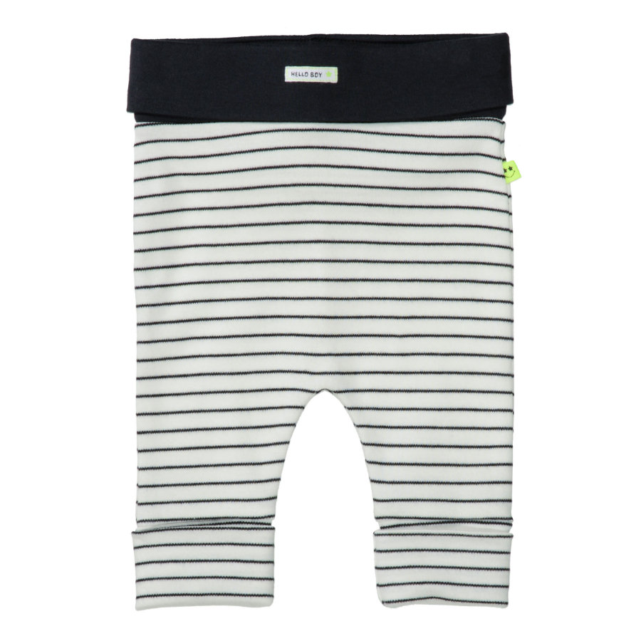 STACCATO Drenge Leggings off white striped
