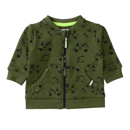 STACCATO Chlapecká bunda z měkkého olivového vzoru