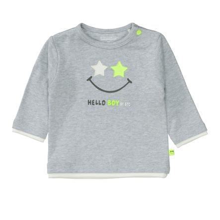 STACCATO  Jongens Shirt zacht grijs gemêleerd