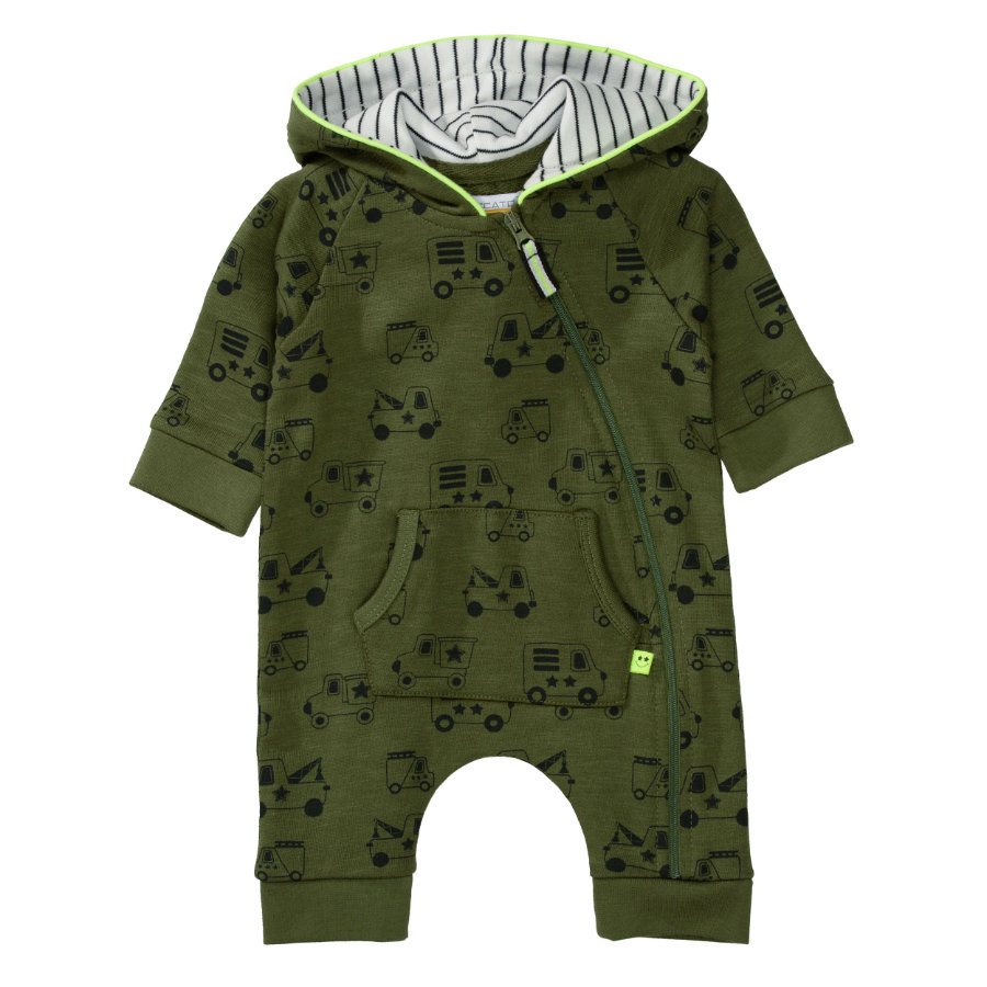 STACCATO Boys Overall soft olive gemustert