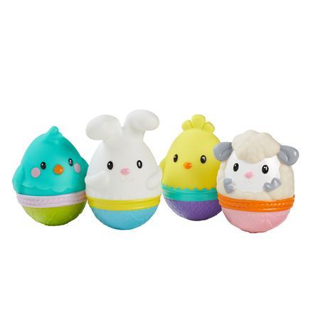Infantino Quietscher Eier, 4-teilig