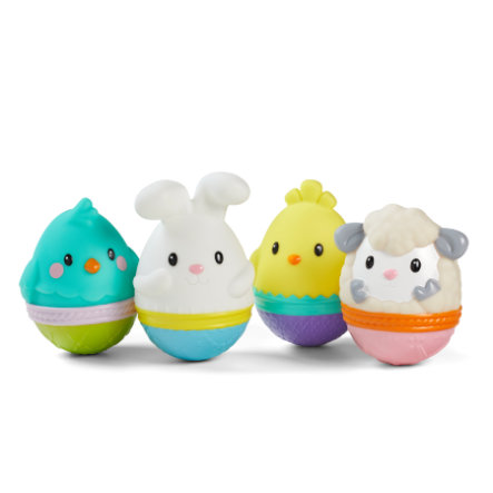 Infantino squeaky egg, 4-deler