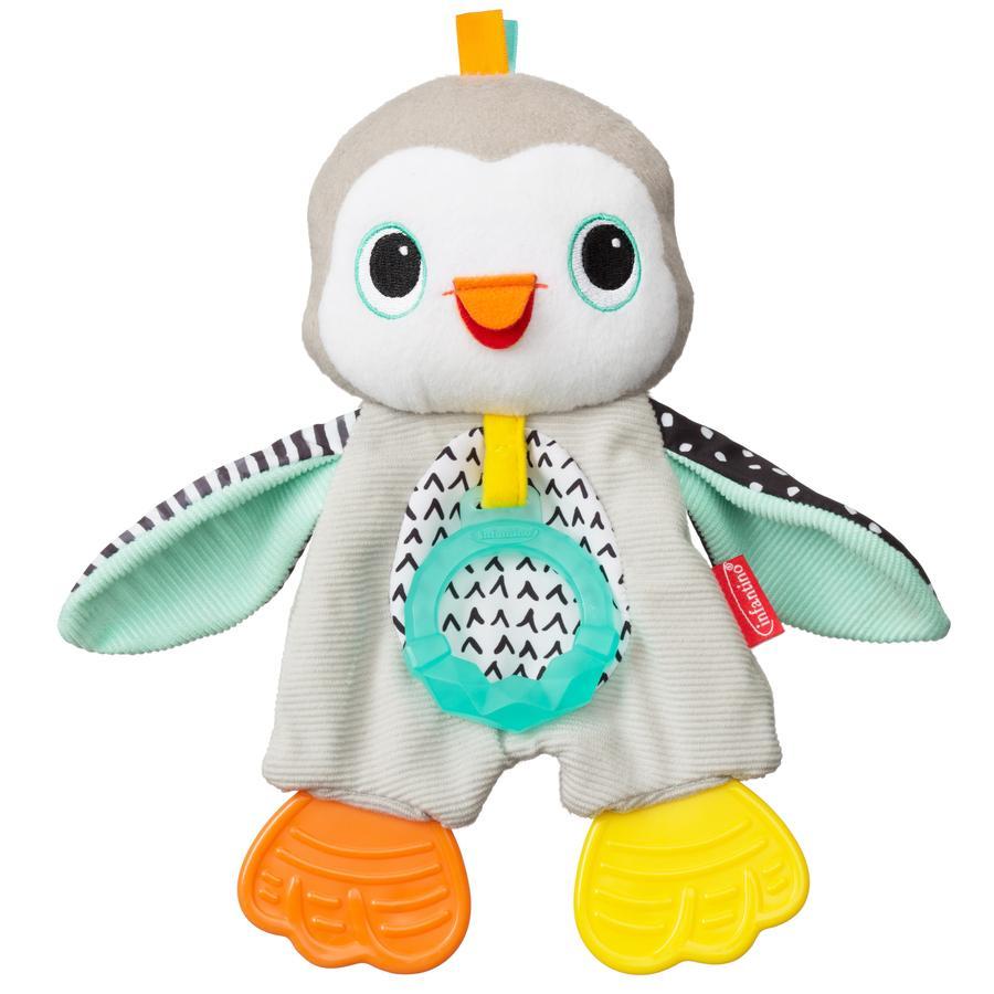Kroužek Infantino Teething plyšový tučňák